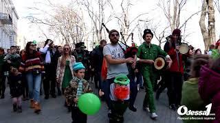 Odessa1.com - Парад в честь дня Святого Патрика