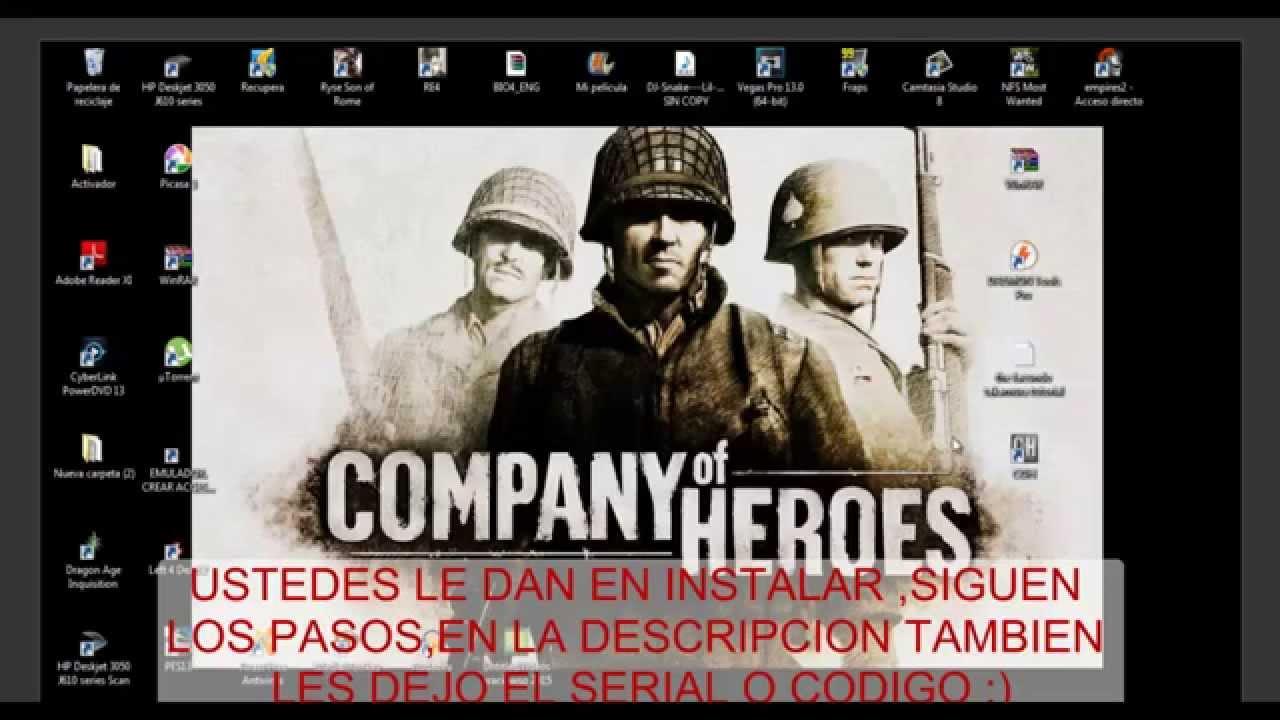 Conpany Of Heroes | gamescraftin