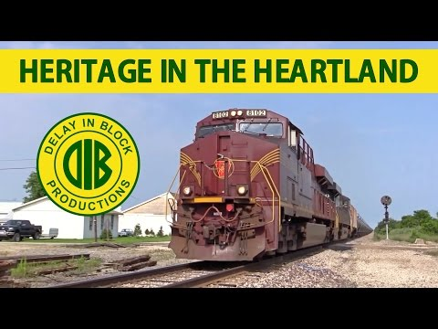 Heritage In The Heartland: Freight Trains on NS and CSX