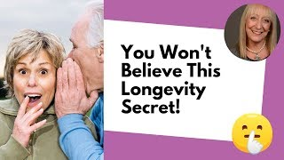 Shhh Don't Tell Anyone This Longevity Secret! | Healthy Aging Interview
