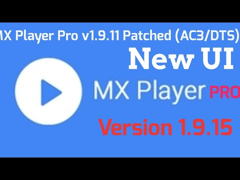 Mx Player Pro v1.9.11 patched Apk & ( AC3/DTS) Support 2018 link is in the Description 👇