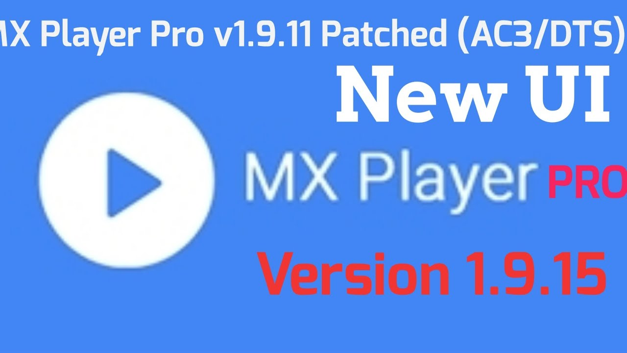 Mx Player Pro v1 9 19 patched Apk & ( AC3/DTS) Support 2018 link is in the  Description 👇