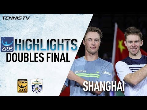 Doubles Highlights: Kontinen/Peers Claim Shanghai Title