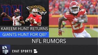 NFL Rumors: Browns Sign Kareem Hunt, Kyler Murray Draft News, Giants & Jaguars Want Dwayne Haskins