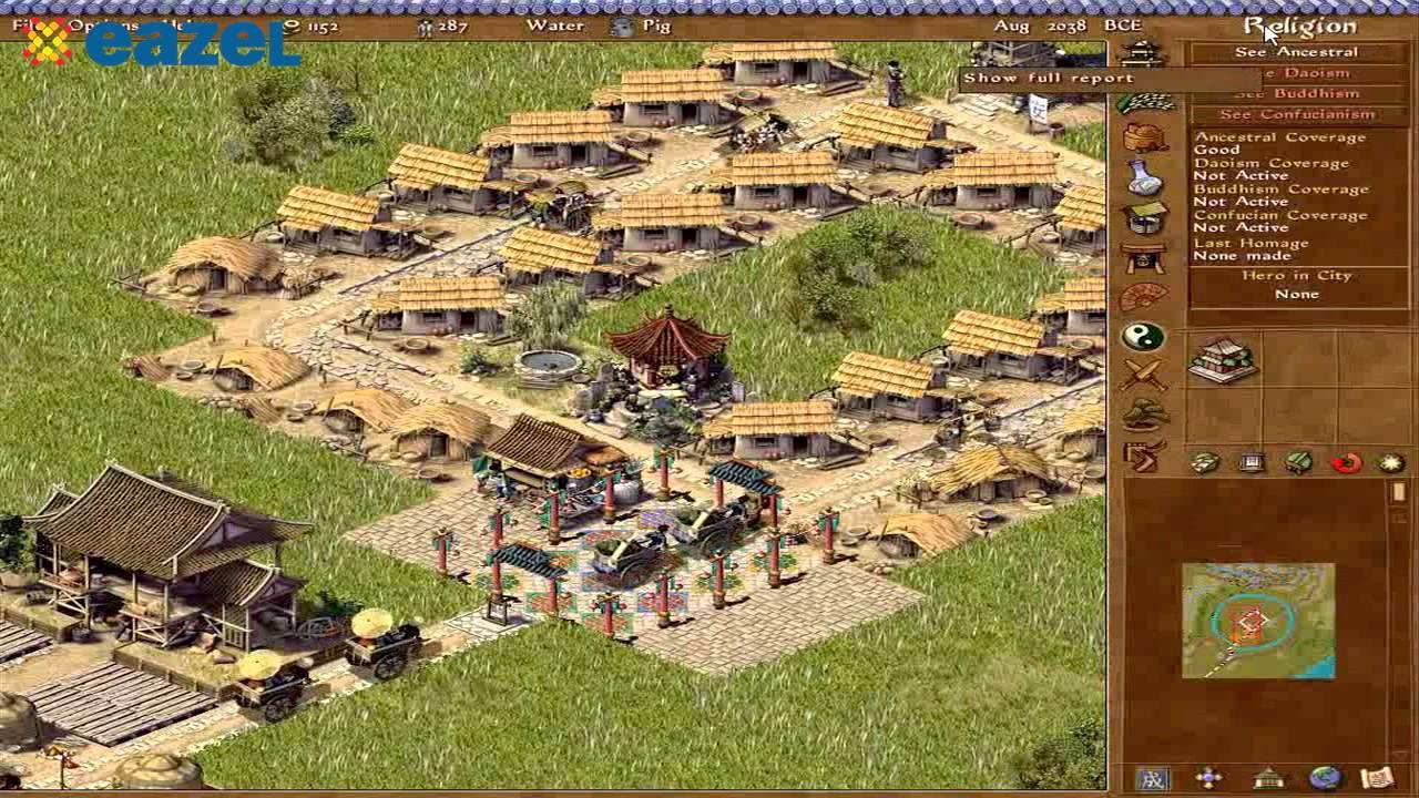 Historique des jeux de construction de ville | EAZEL - YouTube