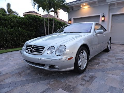 2001 Mercedes-Benz CL500 Coupe for sale by Auto Europa Naples