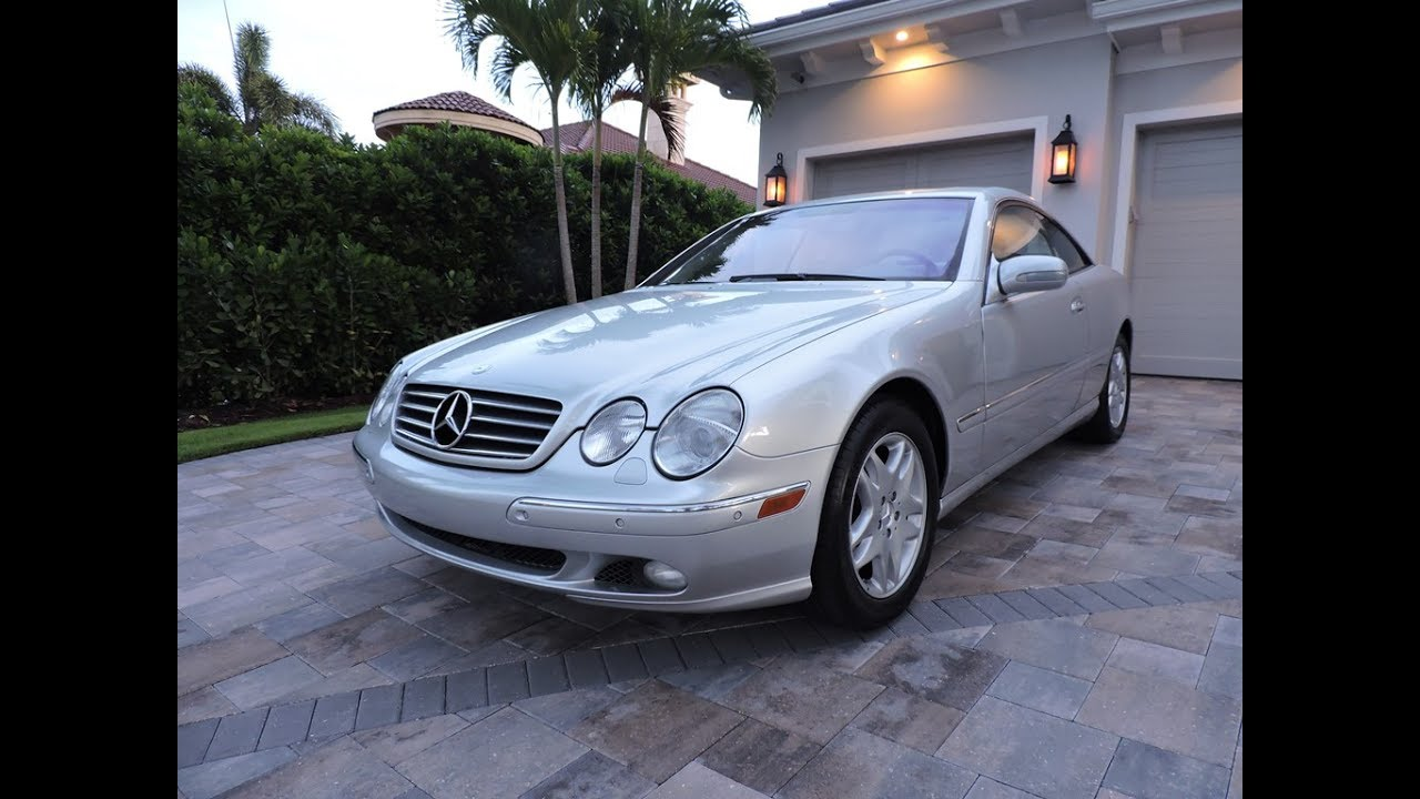 2001 mercedes benz cl500 coupe for sale by auto europa for 2001 mercedes benz cl500 for sale