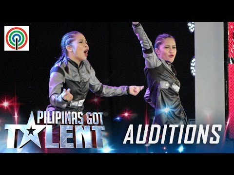 Pilipinas Got Talent Season 5 Auditions: D' Gemini – Female Hip-hop Dance Duo