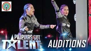 Pilipinas Got Talent Season 5 Auditions: D' Gemini - Female Hip-hop Dance Duo