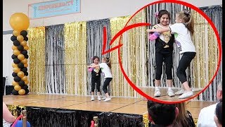 7 year old SAVES Her Friend (on camera)
