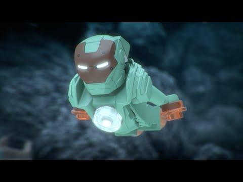 Iron Skull Sub Attack - LEGO Marvel Super Heroes - Mini Movie