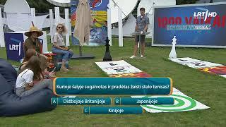 Įdomiosios atostogos tiesiogiai | 2020-08-03|Lietuvos nacionalinis radijas ir televizija