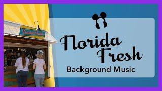 Florida Fresh Background Music - Epcot Flower & Garden