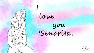Senorita WhatsApp status || Shawn English song || love you status || Animy animations