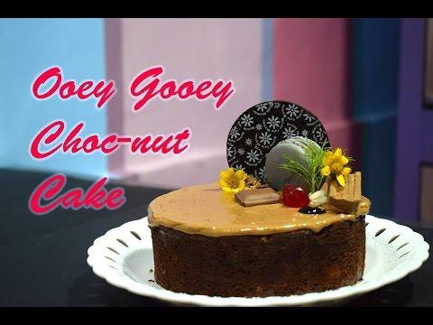 Ooey Gooey Choc-nut Cake