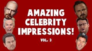 Amazing Celebrity Impressions! Volume 3