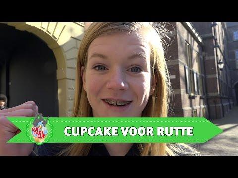 De verjaardagscupcake voor Mark Rutte