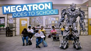 Megatron Goes to School