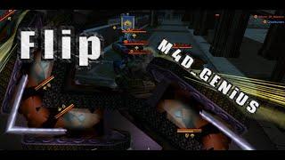 Tanki Online: Flip M4D_GENiUS + 1v1 with FANS!!!