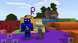 Rainbow hide'n seek in Minecraft with my friend