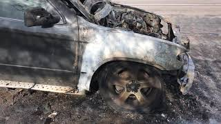 X5 BMW горит и заклинил генератор.