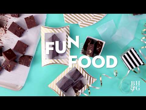 Fabulous Five-Minute Fudge | Holiday Crafts | Better Homes And Gardens