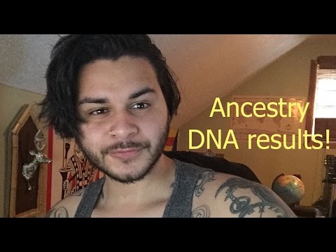 My Ancestry DNA Results! - (Puerto Rican) - 2016!!!