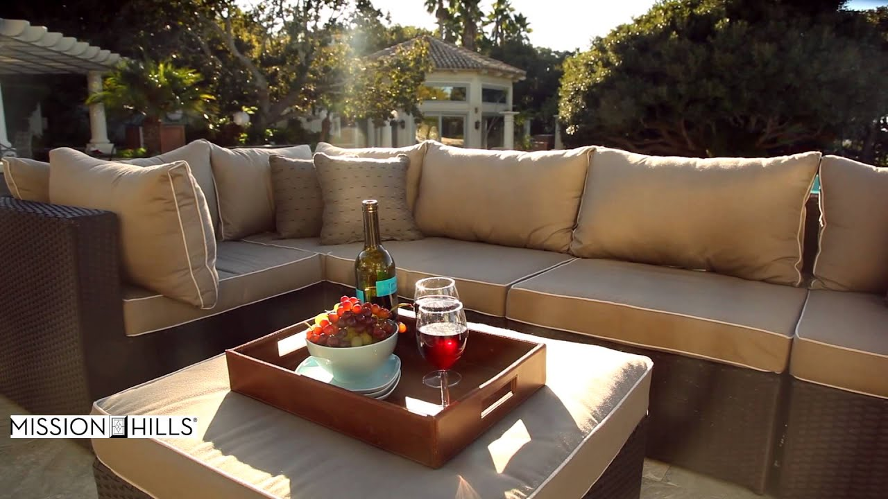 Superieur Newport 7 Piece Patio Modular Deep Seating Collection By Mission Hills