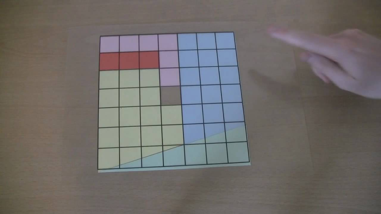 A Maths Puzzle The Missing Square Solution