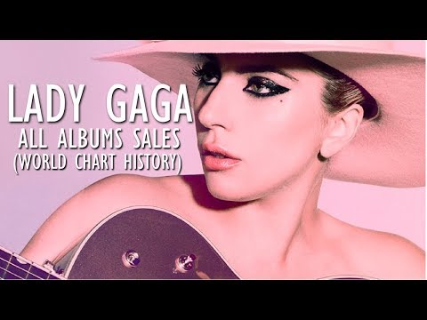 Lady Gaga: All Albums Sales (World Chart History) 2008-2016