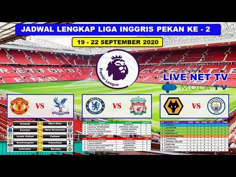 Jadwal Liga Inggris Pekan Ke 2 Live Net Tv Chelsea Vs Liverpool English Premier League 2020 2021 Youtube