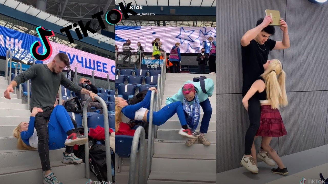 Chumakova Tanya Hot Girl TikTok Parkour Challenge 2021 popcornrest | TikTok Compilation PopCornRest