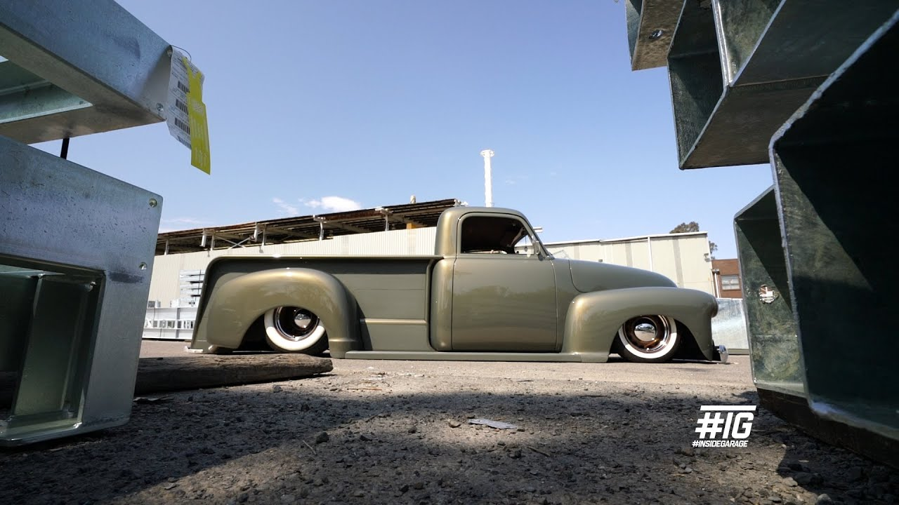 'Memphis Hell' '51 Chevy Pickup Truck build