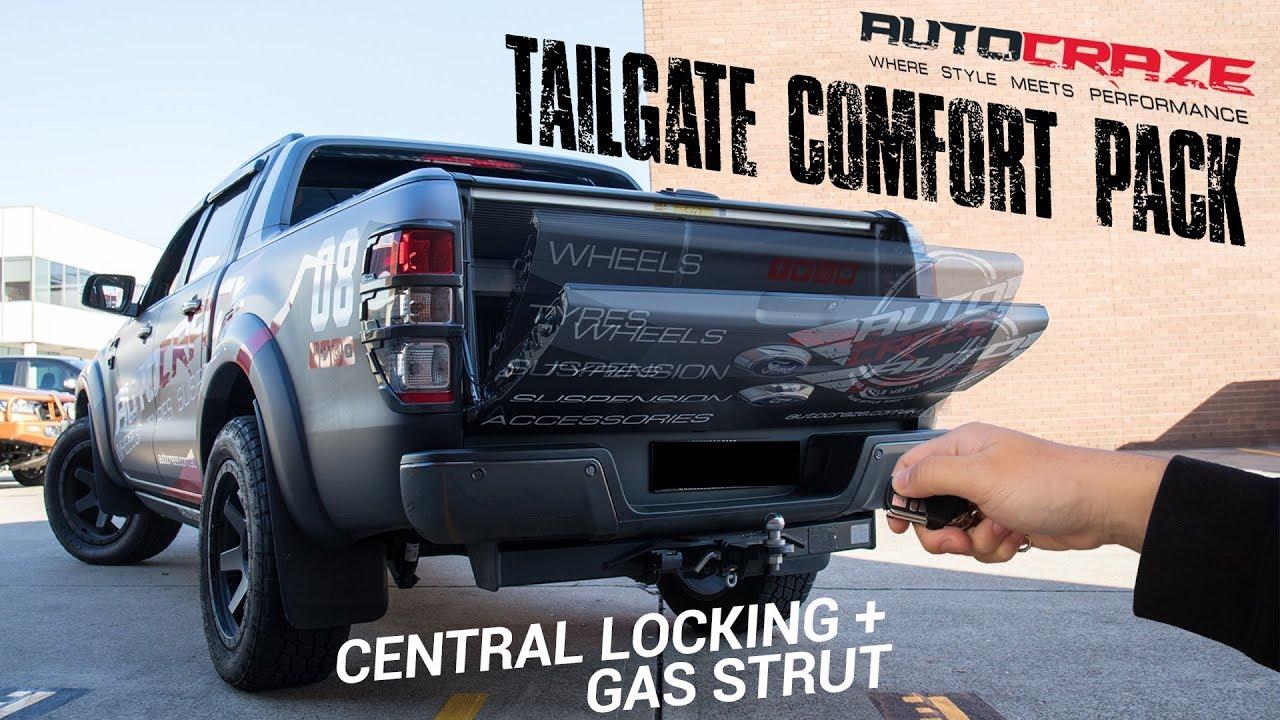 ac tailgate central locking & tailgate assist | 4x4 accessories | autocraze  2018
