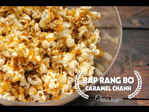 Cách làm Bắp rang bơ | Món ăn vặt | How to make popcorn at home | Ngon Plus
