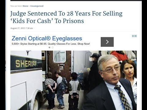 Judge Sentenced To 28 Years For Selling 'Kids For Cash' To Prisons