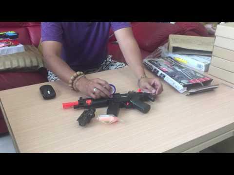 【炙哥】2018 柯爾特 最新款 手動水彈槍 水晶槍 軟彈槍 NERF 軟彈水彈二用槍~生存遊戲 真人CS 露營玩具