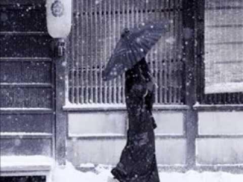 THE SNOW,雪 POEM OF SADNESS 詠歌 AND REGRET 残念 JAPANESE JIUTA MUSIC, VOICE,SHAMISEN  SHAKUHACHI  1624