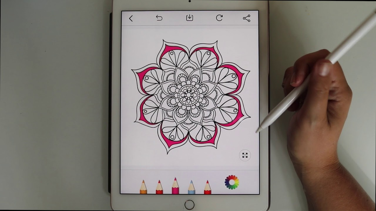 Free Adult Coloring BookApp Review