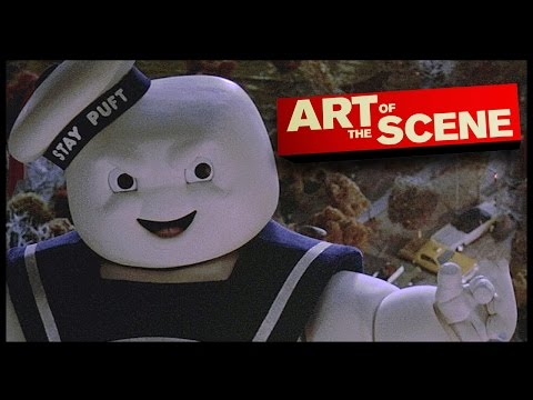 Ghostbusters' Stay Puft Marshmallow Man  Art of the