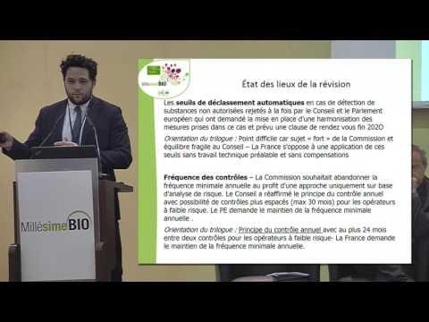 Point sur la réglementation bio générale