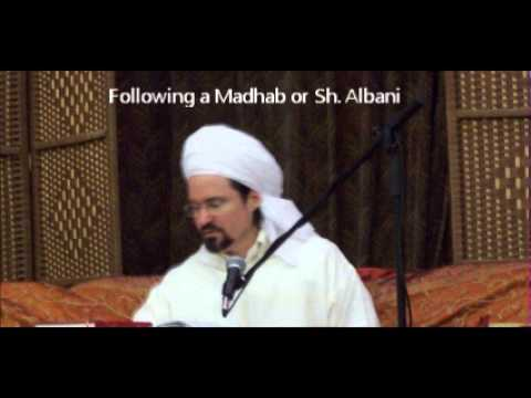 Hamza Yusuf: Follow a Madhab or follow a Wahabi / Salafi? 2013 / 2014