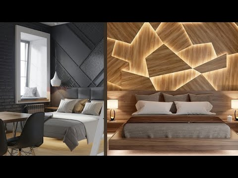 Luxurious Bedroom with modern beds and amazing design and decoration 2020
