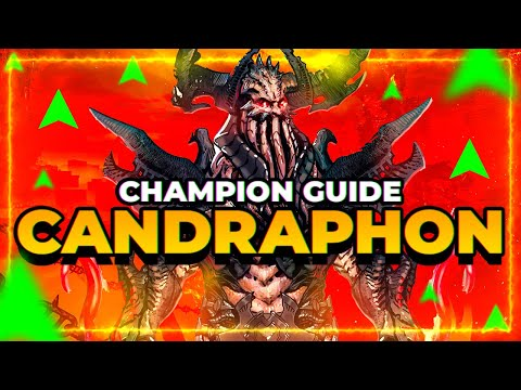 Candraphon Champ Guide! BUFFED in 2.20! Is he worth it now?   RAID Shadow Legends