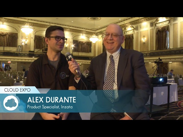 Interview with Alex Durante (Cloud Expo Day 1 Interview: 11:45am)