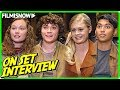 SCARY STORIES TO TELL IN THE DARK | Cast On-set Interview