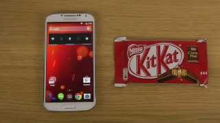 Samsung Galaxy S4 Android 4.4 KitKat vs. KitKat - Which Is Faster?