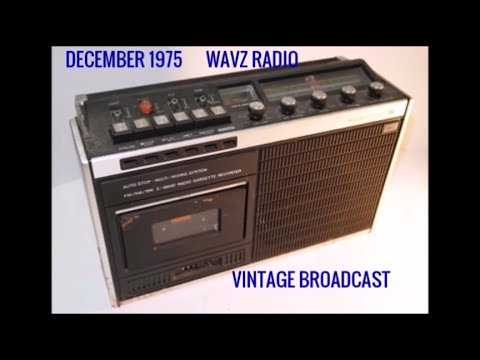 1975 RADIO BROADCAST OF WAVZ MOTOWN WEEKEND