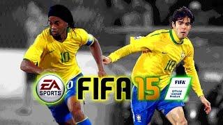 FIFA15 - เก็บแต้มสบายๆสไตล์ Seedling#ตำนาน Brazil (Full Match)