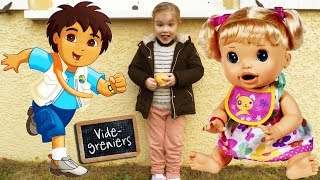 Retour de brocante N°27 : Baby Alive Go Diego Hello Kitty Shopkins (Unboxing)